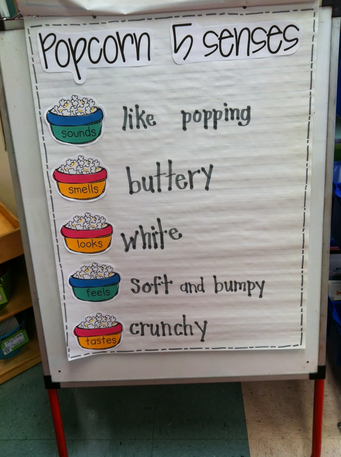 Sweet Kindergarten Our Fabulous Five Senses